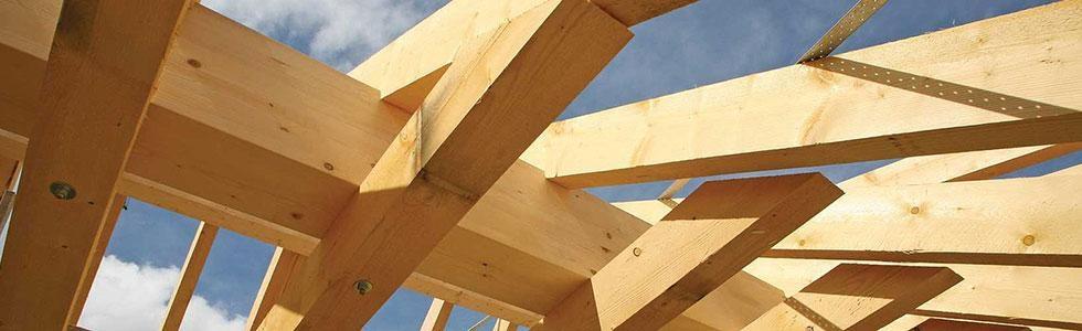 tetti in legno massello