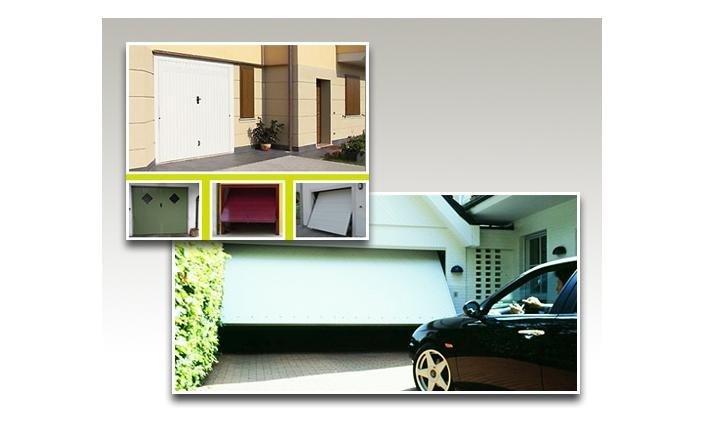 Porte basculanti automatizzate per garage