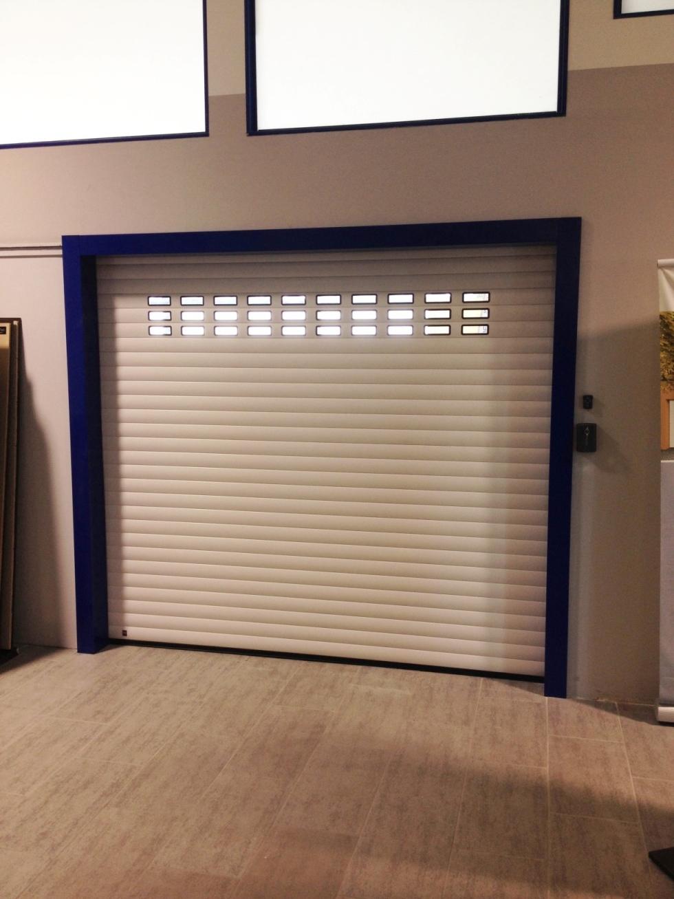 porte garage alluminio
